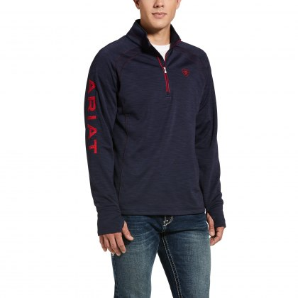 Ariat® Mens Tek Team 1/2 Zip Fleece