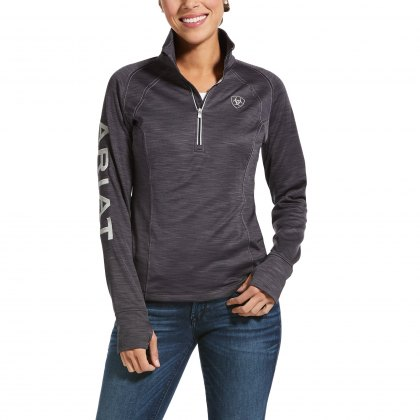 Ariat® Ladies Tek Team 1/2 Zip Fleece