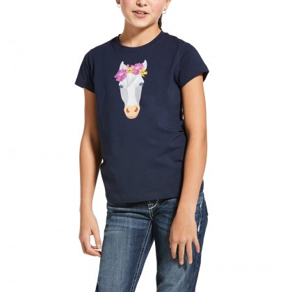 Ariat® Junior Flower Crown Tee