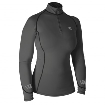 Woof Wear Performance Riding Shirt Grey