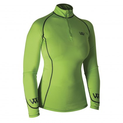 Woof Wear Performance Riding Shirt Lime