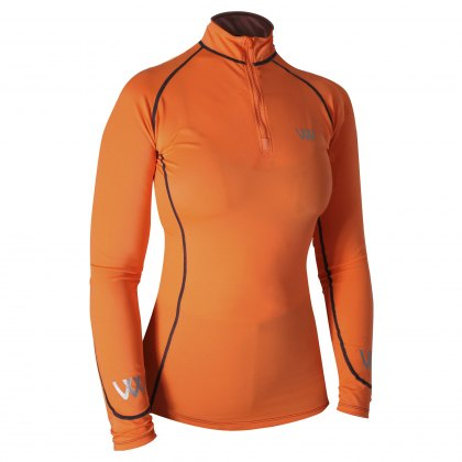 Woof Wear Performance Riding Shirt Orange