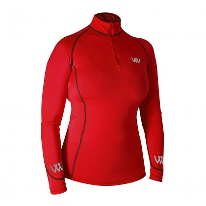 Woof Wear Performance Riding Shirt Royal Red