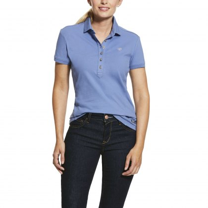 Ariat® Prix Polo Blue Heather