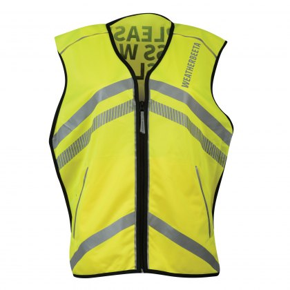 WeatherBeeta Adults Yellow Reflective Waistcoat Hi-Vis