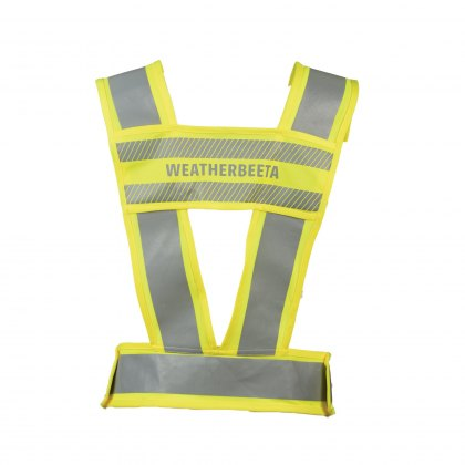 WeatherBeeta Adults Yellow Reflective Harness Hi-Vis