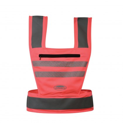 WeatherBeeta Adults Pink Reflective Harness Hi-Vis