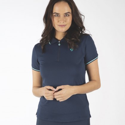 Shires Aubrion  Ladies Parsons Polo Shirt Navy