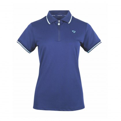 Shires Maids Parsons Polo Shirt Navy
