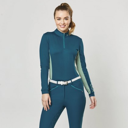 Dublin Airflow CDT Long Sleeve Tech Top Blue Lagoon