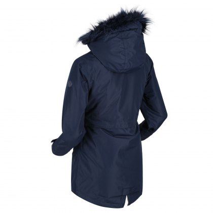 Regatta Great Outdoors Junior Honoria Parka Navy