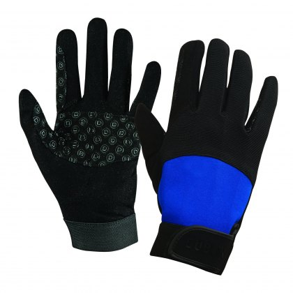 Dublin Cross Country Riding Gloves II Black/Blue