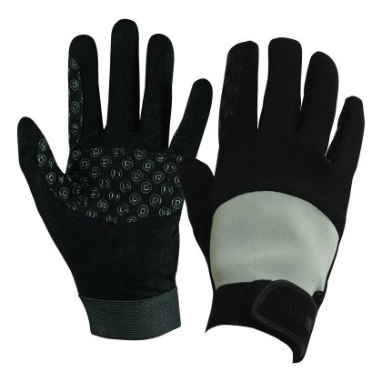 Dublin Cross Country Riding Gloves II Black/Grey