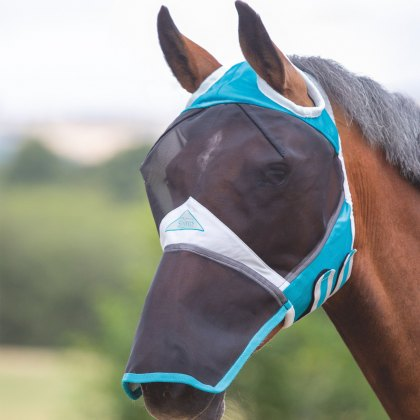 Shires Fine Mesh Fly Mask with Ear Holes & Nose