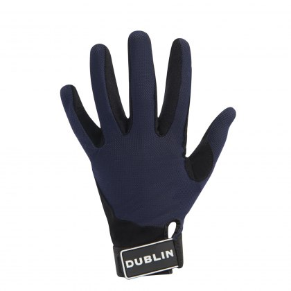 Dublin Meshback Riding Gloves Navy
