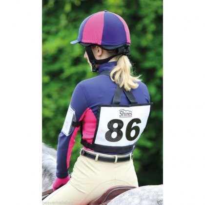 Shires Competition Number Bib