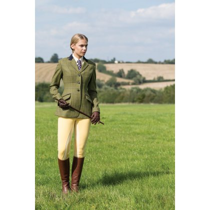 Equetech Adstock Ladies Tweed Riding Jacket