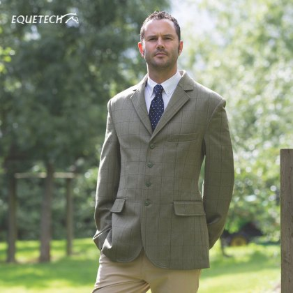 Equetech Foxbury Mens Tweed Riding Jacket