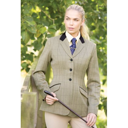Foxbury Classic Ladies Tweed Riding Jacket