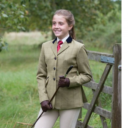 Equetech Foxbury Classic Junior Tweed Riding Jacket
