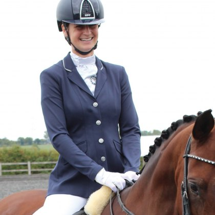 Equetech Jersey Deluxe Ladies Competition Jacket