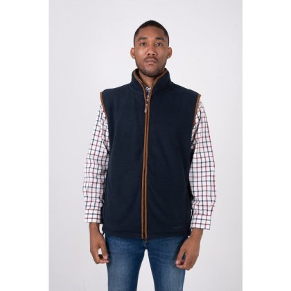 Hazy Blue Bentley Mens Gilet Body Warmer