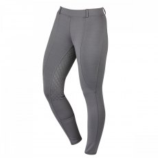 Dublin Performance Cool It Gel Ladies Riding Tights Charcoal